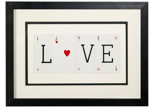 Love sign - source unique British