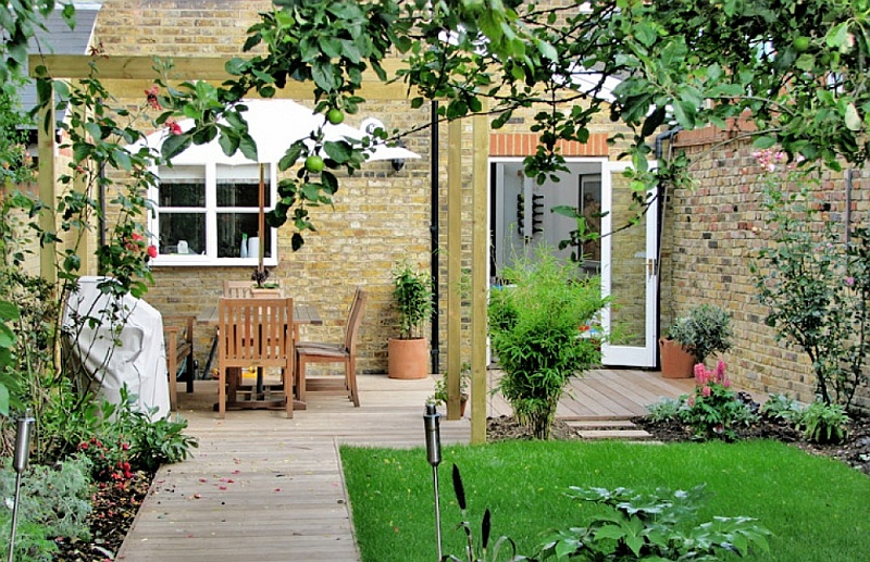 ideas for your terraced house garden 4 celebrating