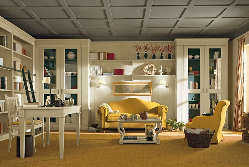 Nice Traditional Furniture For A Roomy Interior 1