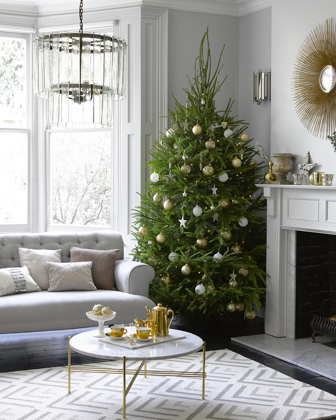 Willow & Hall Christmas living room
