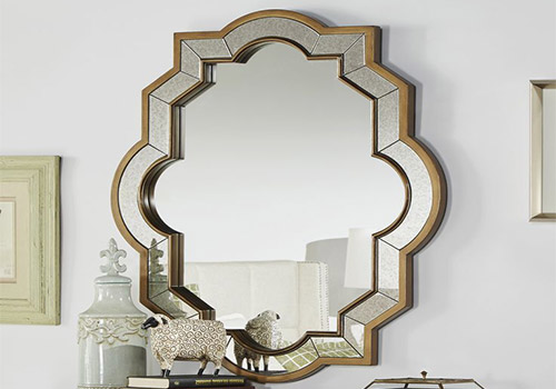 Mirrors to lighten rooms