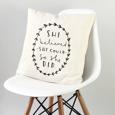 Typo cushion