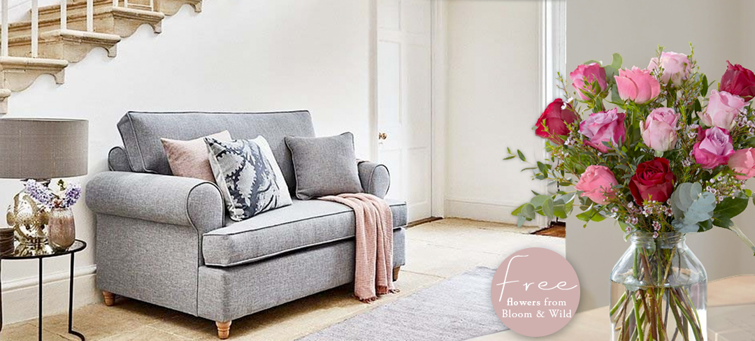 Free flower subscription with love seat orders