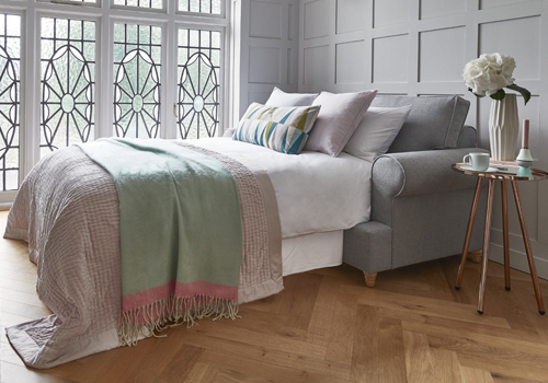 Product Featured: The Buttermere Sofa/sofa Bed Shown In Country Linen Zinc  From £952 And £1,128
