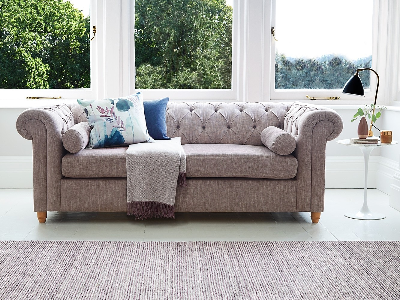 Button-back Bulford sofa or sofa bed
