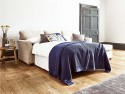 This is how I look in House Linen Vintage Grey as a right side chaise with reflex foam seat cushions